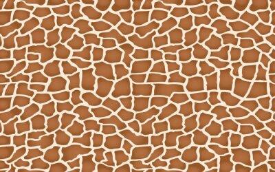 Adesivo giraffe texture pattern seamless repeating brown beige white safari zoo jungle print