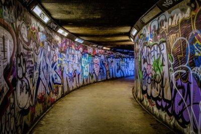 Adesivo Graffiti do metro
