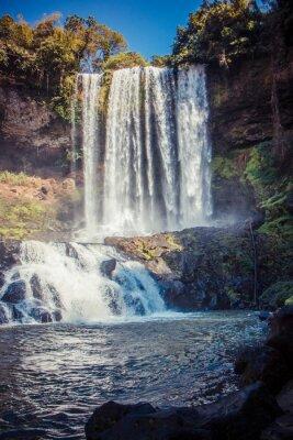 Adesivo Grande e bela cachoeira no parque Dambri, Vietnã