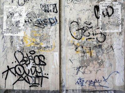 Adesivo Grunge da textura da parede em Bangkok