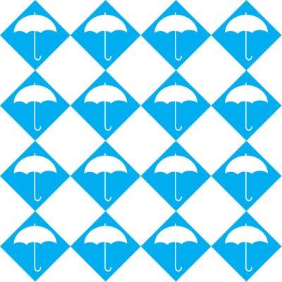 Adesivo Guarda-chuva branco