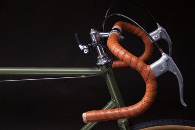Adesivo Guiador de bicicleta vintage