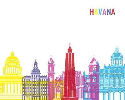 Adesivo Havana pop skyline