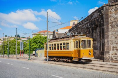 Adesivo Histórico Tram, Porto