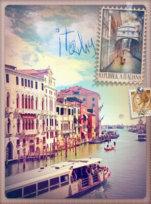 Adesivo Holidays in Italy and Venice series