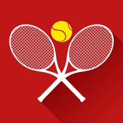 Adesivo Ícone agradável do tênis