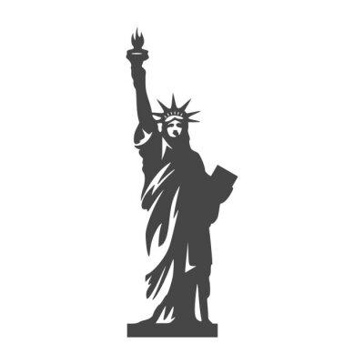 Adesivo Ícone da Estátua da Liberdade - Ilustração