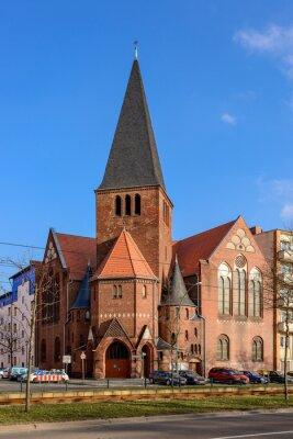 Adesivo Igreja Advent em Berlim Bötzowviertel