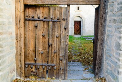 Adesivo igreja medieval