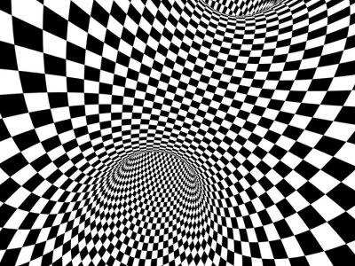 Adesivo Ilusão abstrata