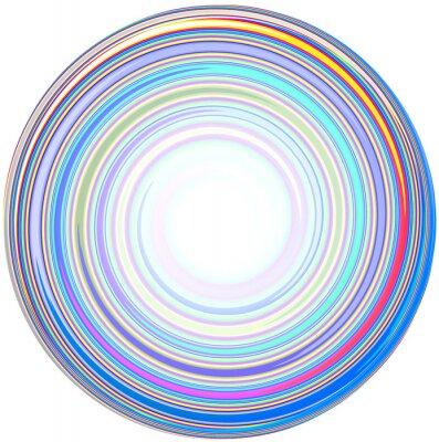 Adesivo ilustração do abstrato Mandala