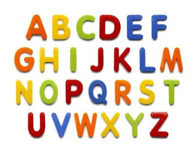Adesivo Ímã do alfabeto