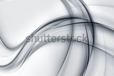 Adesivo Impressionante brilhante branco cinza papel de parede abstrato
