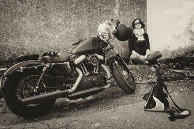 Adesivo In Viaggio con la Moto