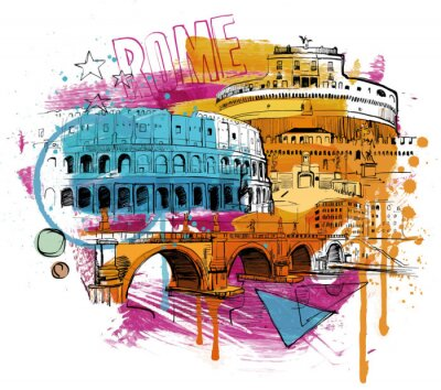 Adesivo Inside Rome