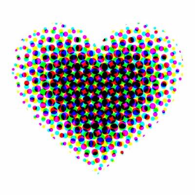 Adesivo Intervalo mínimo Coração