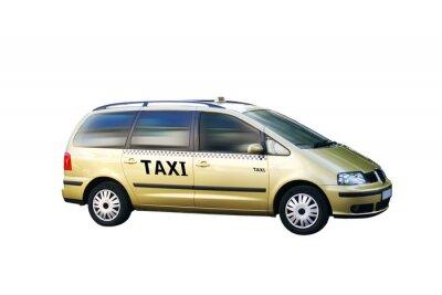 Adesivo Isolado Taxi Bus