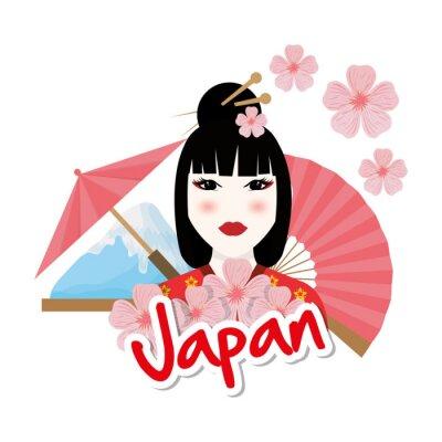 Adesivo Japão cultura design