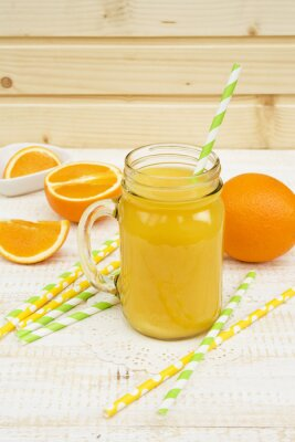 Adesivo Jarro de suco de laranja