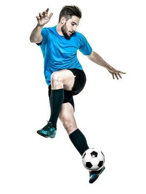 Adesivo Jogador de futebol Homem Isolado
