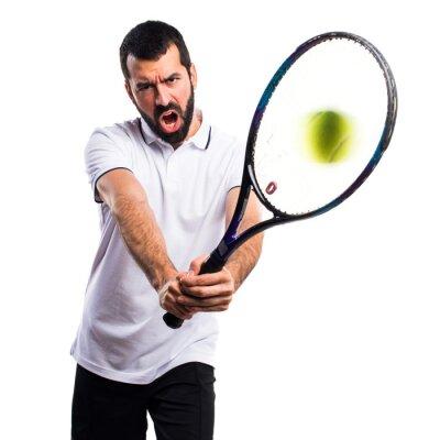 Adesivo Jogador de tênis