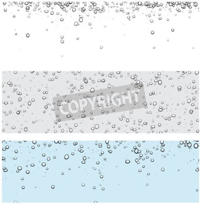 Adesivo Jogo dos fundos com bolhas. Ilustração da água do vetor.