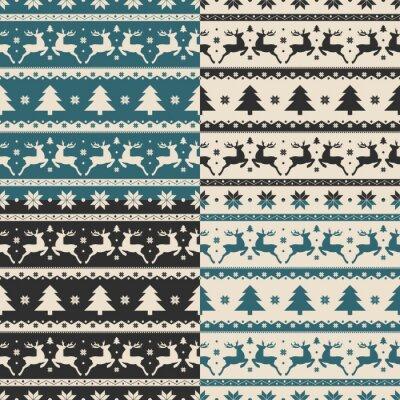 Adesivo Jogo, natal, ano novo, seamless, padrões