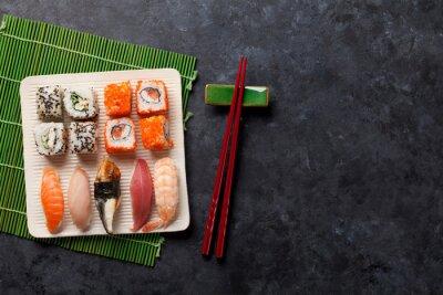 Adesivo Jogo, sushi, maki, rolo
