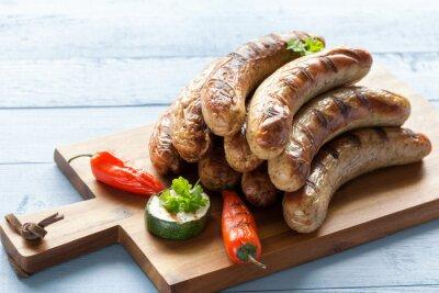 Adesivo Leckere Grillwürstchen