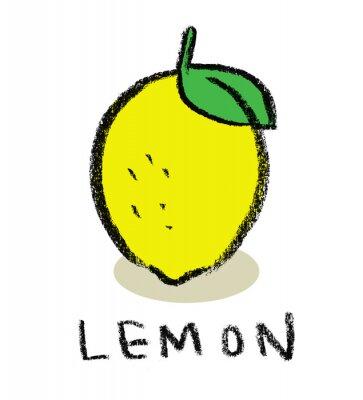 Adesivo Limão