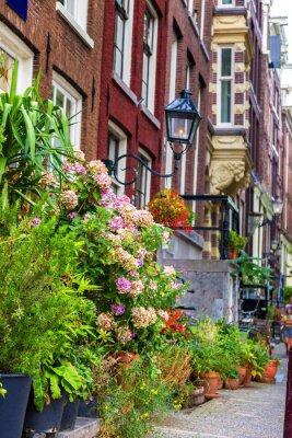 Adesivo Linda casa em Amsterdã