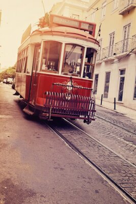 Adesivo Lisbonne (eléctrico électrique)