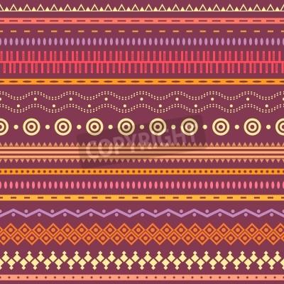 Adesivo Listrado Tribal emenda. Fundo asteca geométrica. Pode ser usado em design de tecido para confecção de roupas, acessórios; criação de papel decorativo, envolvimento, envelope; em web design, etc.