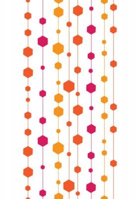 Adesivo listras coloridas vetor abstratos e formas perfeita verticais