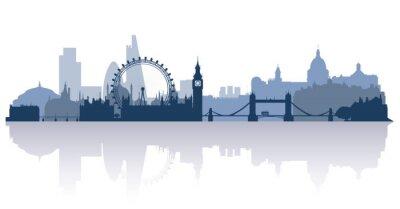 Adesivo Londres no vetor stile plana