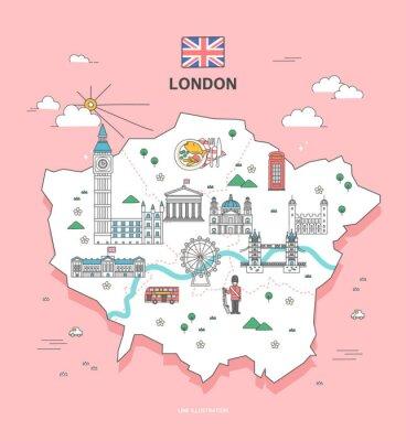 Adesivo Londres, viagem, marco, cobrança