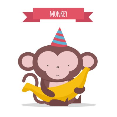 Adesivo Macaco
