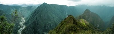 Adesivo Machu Picchu panorâmico