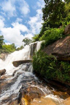 Adesivo Mae klang cachoeira, doi inthanon parque nacional, Tailândia