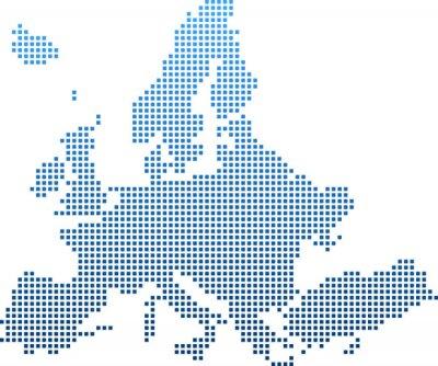 Adesivo map of Europe
