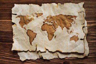 Adesivo Mapa antigo