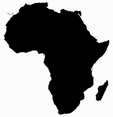 Adesivo Mapa de África