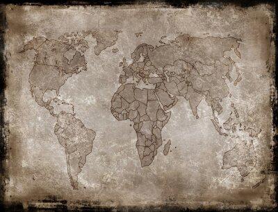 Adesivo mapa fundos de idade