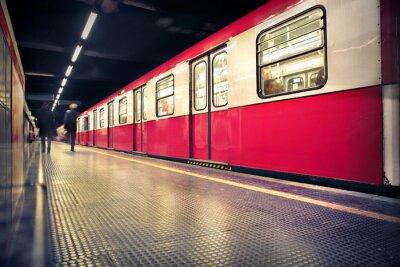 Adesivo metrô