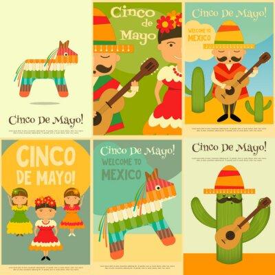 Adesivo Mexicano Pôsteres
