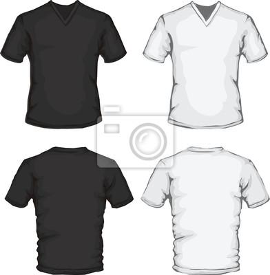 6f0fa6ab204cc Modelo de camisa de gola v laptop adesivos • adesivos para a parede ...