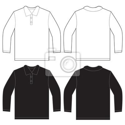 a7e7ed9adca65 Modelo preto do projeto da camisa do pólo da luva do preto laptop ...
