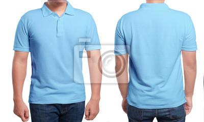 ff8a669061d18 Molde azul do projeto da camisa do polo laptop adesivos • adesivos ...
