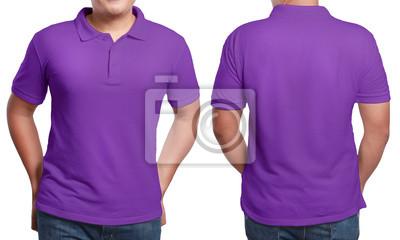 55a67b2bc2af0 Molde roxo do projeto da camisa polo laptop adesivos • adesivos para ...