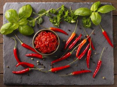 Adesivo Molho de pimenta